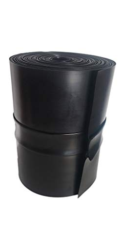 Goberco Under Deck Drainage System Z/50/12 50#039 Long Roll for 12#039#039 Joist Spacing 30 Mil Thick Black Trough Create Dry Below Deck Storage