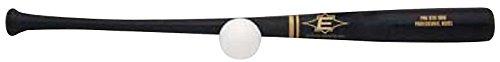 "EASTON PRO STIX Plastic Baseball Bat & Ball Set | Professional Wood Bat Design | Plastic Ball | Fun For All Ages | 2020, 33"""
