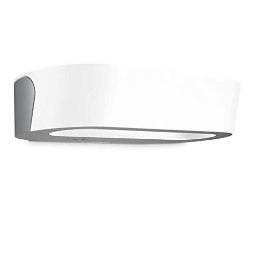 Steinel Außenwandleuchte LN 710 LED Anthrazit 8.6 W Wandlampe mit Dämmerungsschalter, Nachtsparmodus, Softstart, Kunststoff