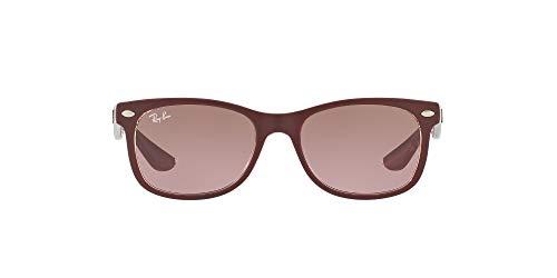 Ray-Ban Junior Unisex-Kinder 9052s Brillengestelle, Rot (Matte Bordo On Trans), 48