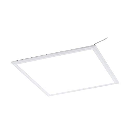 LED Panel SALOBRENA ECO in Aluminumgehäuse weiss 45 x 45 cm H:1,1cm