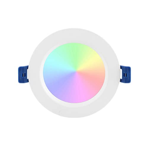 LOULE Tuya Zigbee 3 0 Smart Downlight 16 Millones de Colores para Elegir Compatible con Alexa Echo / Google Home Controlable por Voz Necesita Zigbee 3 0 Hub