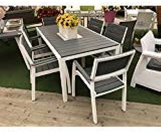 Amazon.it: Tavolo con sedie in alluminio - 4 stelle e più