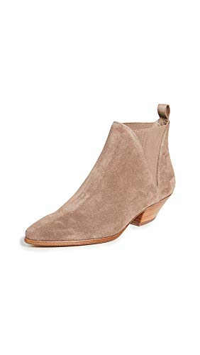 Diane von Furstenberg Women's Nadie Booties, Taupe, Tan, 6.5 Medium US
