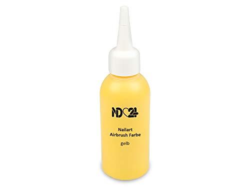 Nailart Airbrush Farbe gelb - NAIL ART Nagel-Design