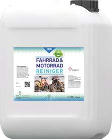 EOSOL Fahrradreiniger / Fahrrad Reiniger / Mountainbike Reiniger (Schaumreiniger), extrem wirksam, Hochleistungsreiniger auf Wasserbasis, Nachfüllkanister mit 5 l Inhalt für die Schaumsprühflasche