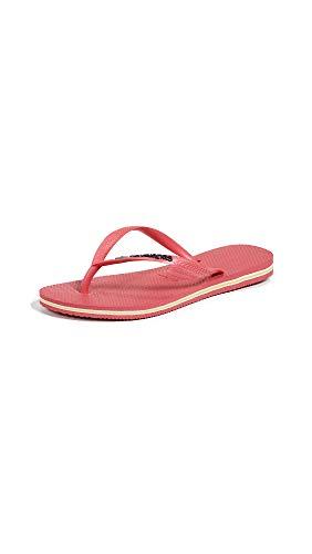 Havaianas Womens Slim Brazil, Flamingo, 35/36 EU