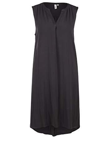 Q/S designed by - s.Oliver Damen Leichtes Kleid aus Viskose Grey 42