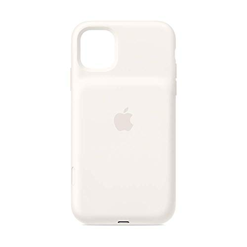 Apple Smart Battery Case con Ricarica Wireless (per iPhone 11), Bianco