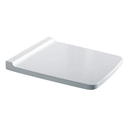 Geberit GE WC-Sitz XENO² mit Absenkautomatik weiß, überlappend, Duroplast