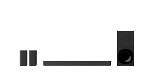 Sony HT-S20R – Soundbar TV a 5.1 canali, Dolby Surround, con Subwoofer cablato e Speaker posteriori (Nero)