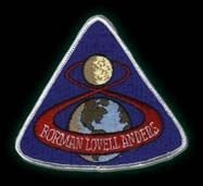 Nasa Orginal Raumfahrt Aufnäher Apollo 8