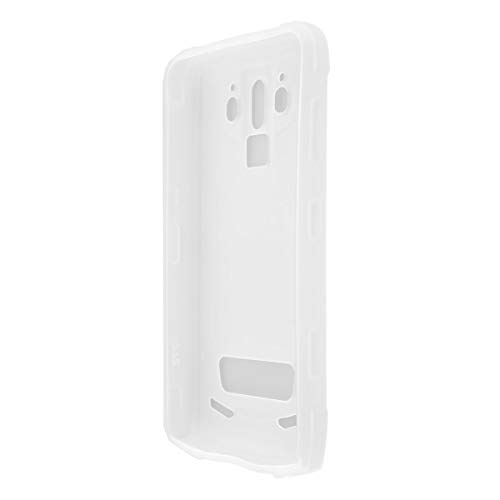 caseroxx TPU-Hülle für Doogee S90, Tasche (TPU-Hülle in weiß-transparent)