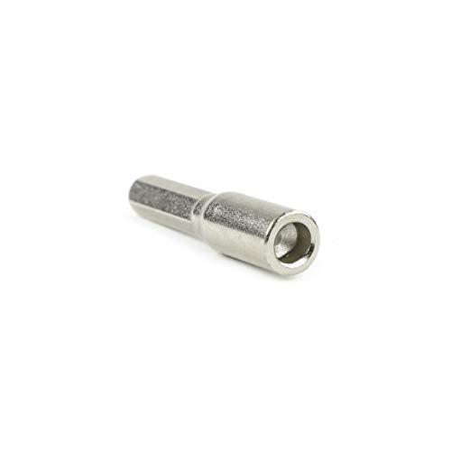 iFixit Ovalkopf Bit 4mm Ovalkopfschlüssel oval Bit passend für Krups Nespresso AEG Jura delonghi vollautomaten