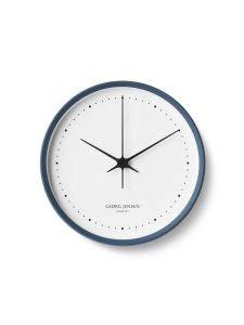 Georg Jensen Henning Koppel - Reloj de Pared (22 cm), Color Azul