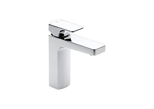 Roca L90 - grifo monomando para lavabo con cuerpo liso y desagüe click-clack ....