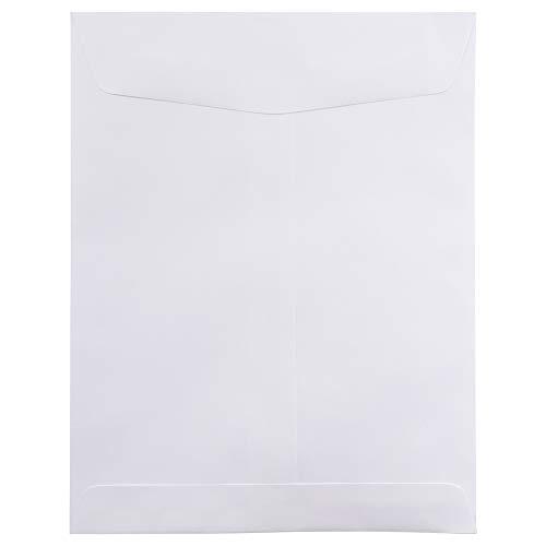JAM PAPER 8 3/4 x 11 1/4 Open End Catalog Commercial Envelopes White 50/Pack