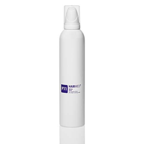 HAIRMED - F11 Mousse Capelli Professionale Tenuta Forte - Spuma Volumizzante Capelli Mossi - 300 ml