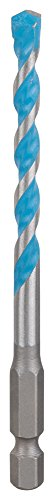 Bosch Professional 2607002777' HEX-9 Construction Multi-Purpose Drill Bit, Silver/Blue, 6 mm x 60 mm