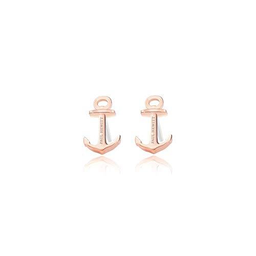 PAUL HEWITT Damen Ohrstecker Rose Gold Northern Delight - Damen Ohrringe Rosegold, Ohr Ring Rosegold Damen