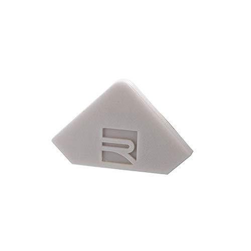 reprofil Accessoire pour LED Profil P AV 02–10 Embout, Lot de 2, gris 978181