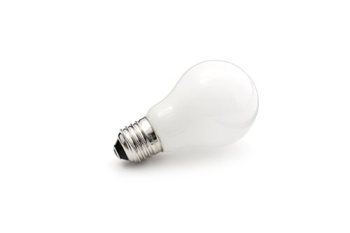 Bombillas LED Gnosjö Konstsmide de cristal, E27, 4,6 W, ópalo, 6 x 6 x 16 cm, 10 unidades