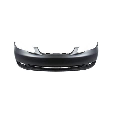 TO1000297 Make Auto Parts Manufacturing Front Bumper Cover Primed without Spoiler Holes For Toyota Corolla CE LE 2005 2006 2007 2008