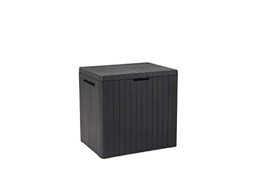 Keter City Outdoor Storage Box - Dark Grey