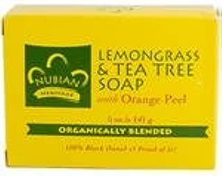 Nubian Lemongrass and Tea Tree Soap (5 oz.) ( Six Pack) by Healthcare