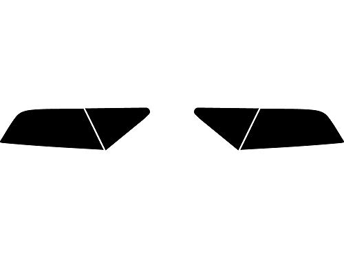 Rtint Tail Light Tint Covers for Audi A7 2012-2015 - Blackout Smoke