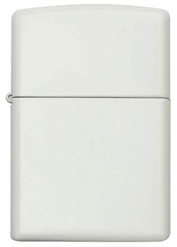 Zippo  Feuerzeug, White Matte