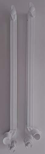 Brazos de toldo modelo para balcón con guías cortavientos