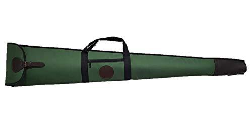 cazayaventura Funda para Escopeta semiautomatica montada en Cordura Verde 130cm