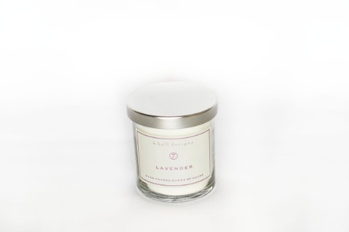 k hall designs Jar Candle, Lavender