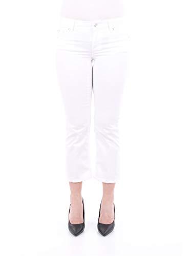 Liu Jo WA0185T7144 Pantalone Donna Bianco Ottico 28