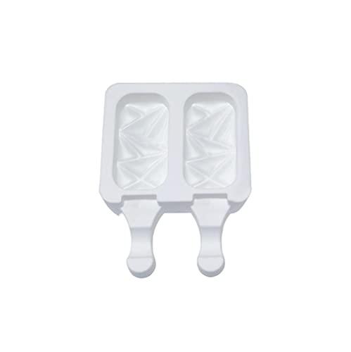 Moldes Polos Helados Moldes Lolly De Hielo Moldes De Crema De Silicona 4 Cell Cube Bandeja Food Safe Popsicle Maker Diy Hombre De Congelador Congelador Diy Herramientas Para El Hogar-Pc 1_B 2 Gri