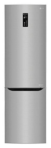 LG GBP20PZQFS Independiente 343L A+++ Acero inoxidable nevera y congelador – Frigorífico (343 L, SN-T, 14 kg/24h, A+++, Compartimiento de zona fresca, Acero inoxidable)