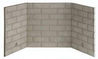 Superior BLBSR White Stacked Refractory Brick Liner