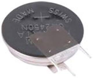 Lithium 24.5 mm 3 V 540 mAh 3 Tabbed Vertical Battery, Pack of 500 (CR2450NRV-LF)
