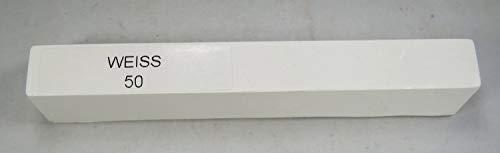 BORMA Weichwachs 1 Stange á 15 g -verschiedene Farben zur Auswahl- (50 Weiß)