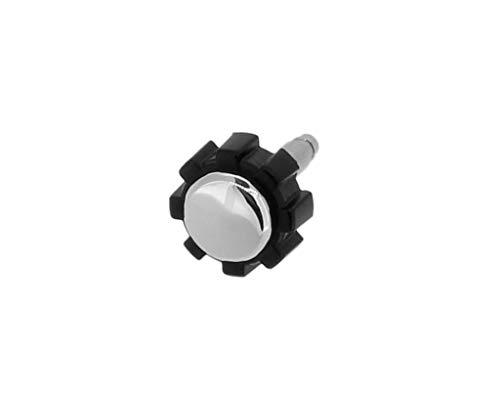 Calypso K5673 - Corona de acero inoxidable para reloj de hombre, color plateado y negro