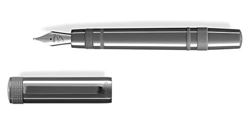 Penna stilografica Tibaldi Perfecta Grey Dèlavè - Pennino F