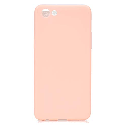 BSA Schutzhülle für Oppo A83 Rosa TPU, flexibel, weich, ultradünn, kratzfest, HD Hülle, kompatibel mit Smartphone