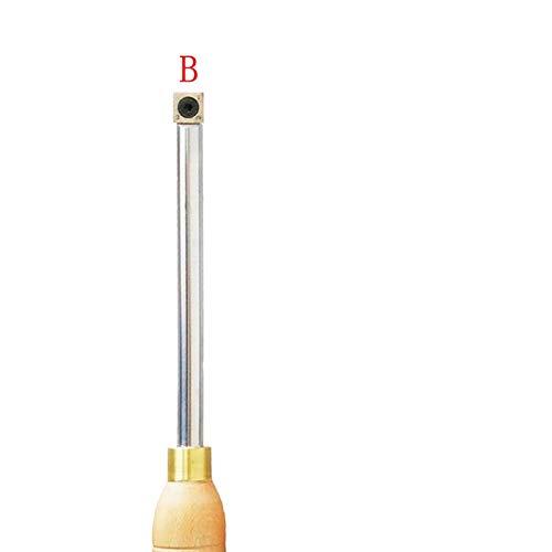 XBF-TOOL, Hout Draaien Gereedschap Beitel Verwisselbare Tungsten Titanium Tip Draaibank Gereedschap Invoegen Snijder Kan Match Aluminium Hadle Houtbewerking Tool