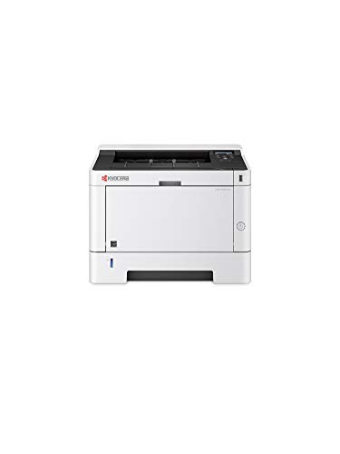 Kyocera Klimaschutz-System Ecosys P2040dw WLAN Laserdrucker: Schwarz-Weiß, Duplex-Einheit, 40 Seiten pro Minute. Inkl. Mobile Print Funktion