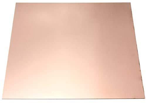 JKGHK Reines Kupfer Blatt Kupferfolie Kupferplatte Metallfolie Verwendet Schweißen,100mm*100mm*5mm