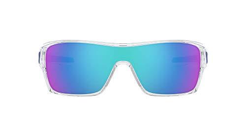Oakley Herren Turbine Rotor Sonnenbrille, (Transparente)
