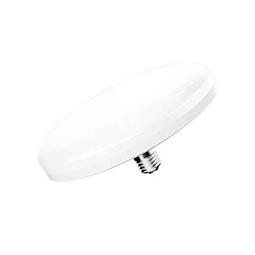 Bonlux Lampadine a Faretti da Soffitto UFO 15W E27 Edison Screw Fitting Bianco Freddo 6500K + Bianco Caldo 2800K, 1Pz