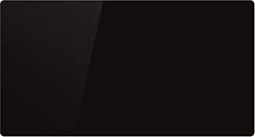 VOLTMAN VOM540018 - Panneau rayonnant - 2000 Watts - Facade en verre Trempée Noire - Détection fenetre