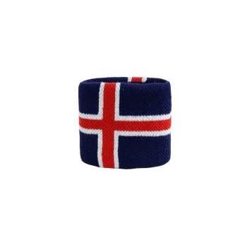 Flaggenfritze/® Schweissband Demokratische Republik Kongo